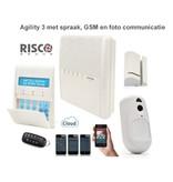 Risco Agility 3 kit draadloos alarmsysteem met GSM module foto PIR en app