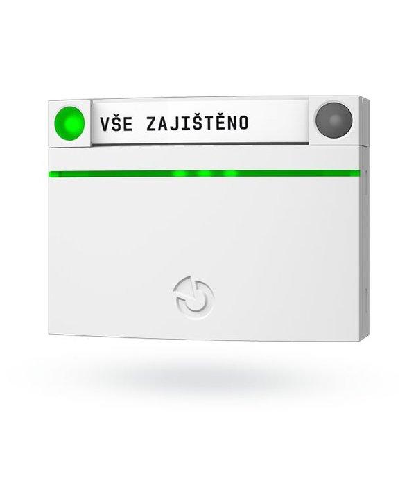 Jablotron 100 draadloos RFID bedieningspaneel zonder cijfertoesen en display