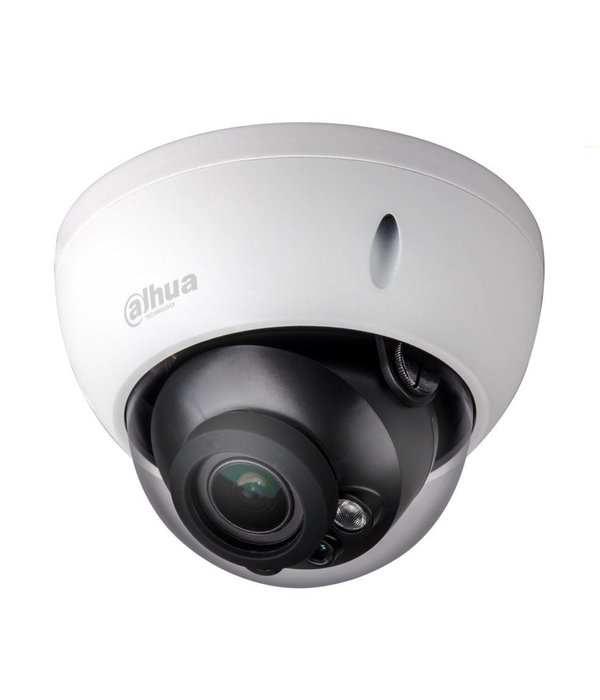 Dahua IP domecamera 2MP en automatische zoomlens voorzien van nachtzicht IR led.