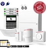 Jablotron 100 alarmsysteem kit Hybride met GSM LAN communicatie inclusief vakkundige montage door veilighuis
