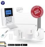 Jablotron Oasis jk84y alarmsysteem met GSM simkaart module en 2 draadloze sensoren.