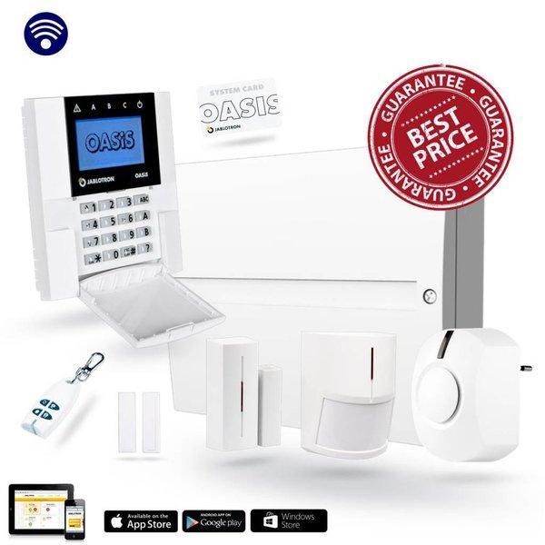 Oasis alarmsysteem basisset met GSM en APP JK84Y