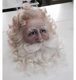 Eigen atelier Kerstman pruik en baard (maatwerk)