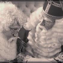 Kerstman pruik en baard