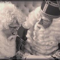 Kerstman pruik en baard (maatwerk)