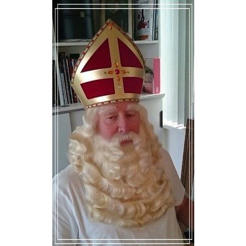 Vakles Sinterklaasbaardstel Onduleren