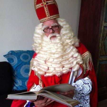 Eigen atelier Sinterklaas set (snor + wenkbrauwen)