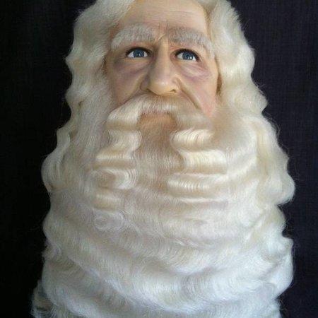 Eigen atelier Sinterklaas snor