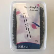 Sibel Wavy Hairpins  45mm