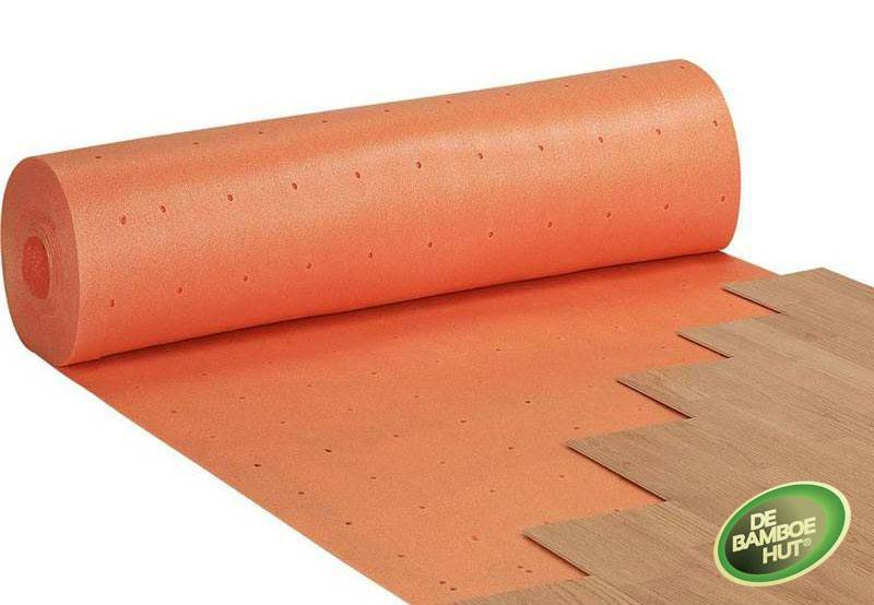 Ondervloer vloerverwarming