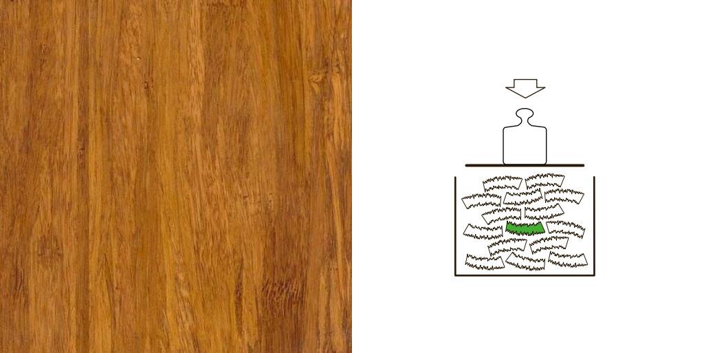 Density bamboe vloer