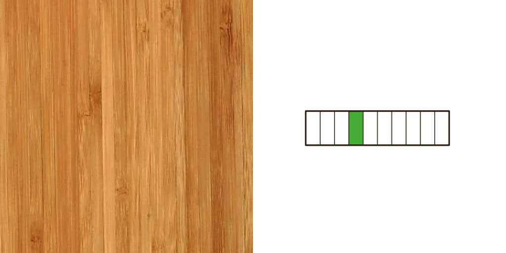 Side Pressed bamboe vloer
