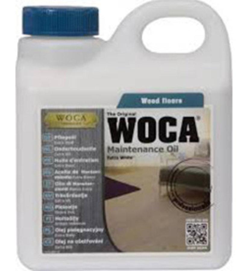 schoonmaak-onderhoud WOCA Onderhoudsolie Wit 1L