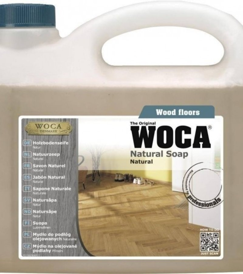 schoonmaak-onderhoud Woca Zeep Naturel 2,5L