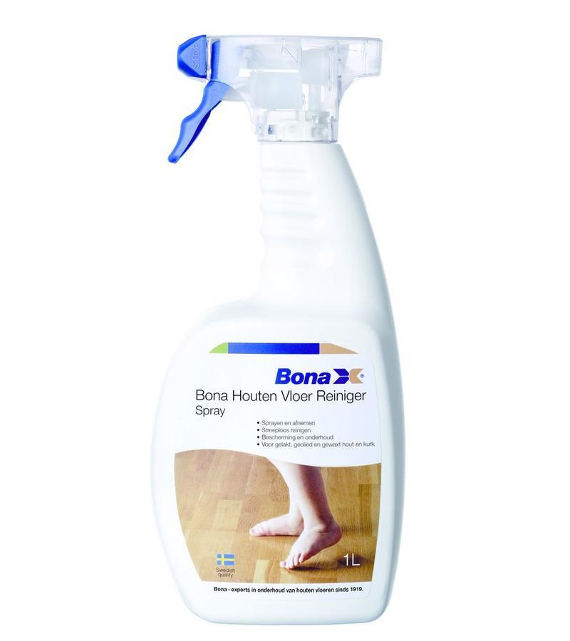 schoonmaak-onderhoud Bona Houten Vloer Reiniger 1L