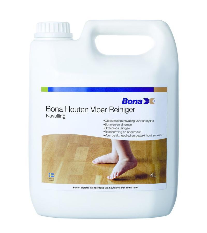 schoonmaak-onderhoud Navulling Bona Houten Vloer Reiniger 4L