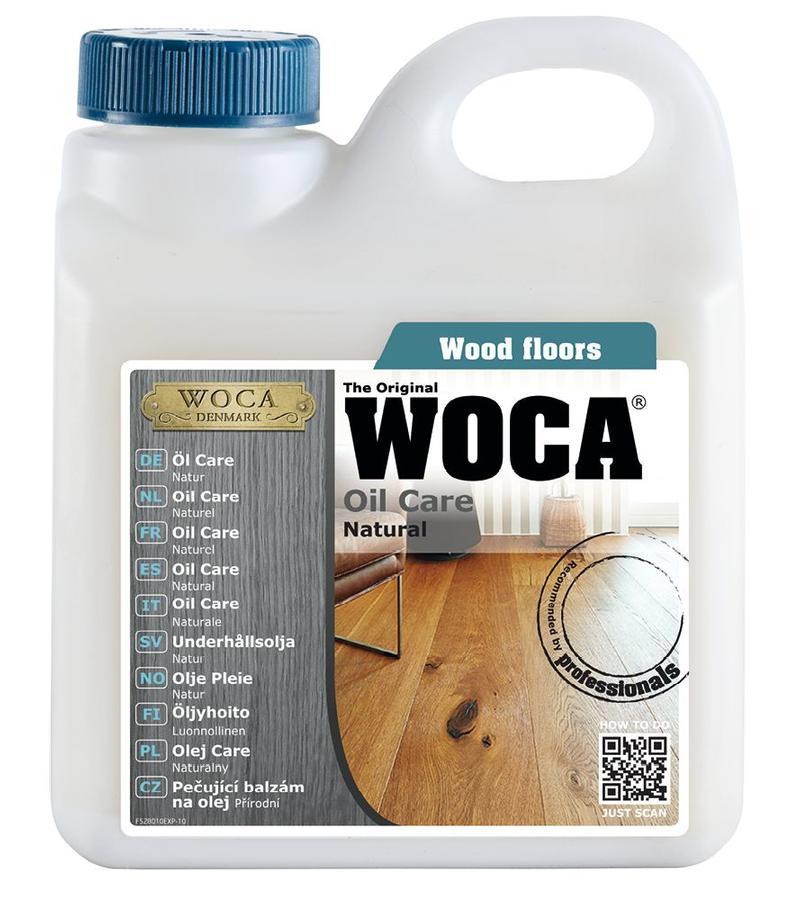 schoonmaak-onderhoud Woca Oil Care Naturel 1 Liter