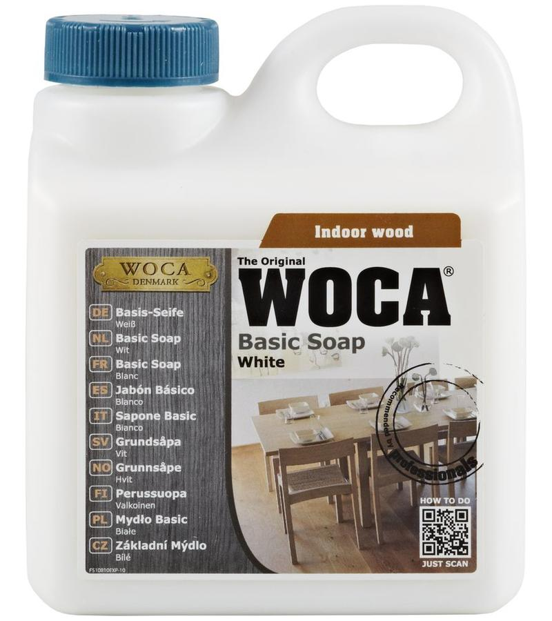 schoonmaak-onderhoud Woca Basis zeep Wit 1 Liter