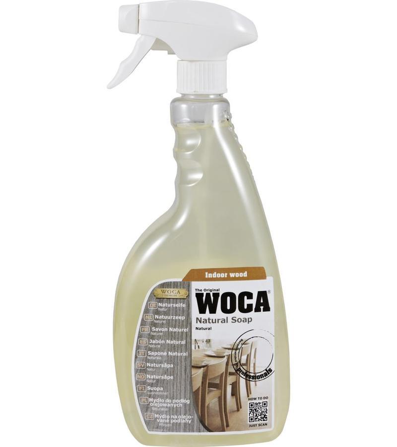 schoonmaak-onderhoud Woca Zeep Naturel Spray 750 ml