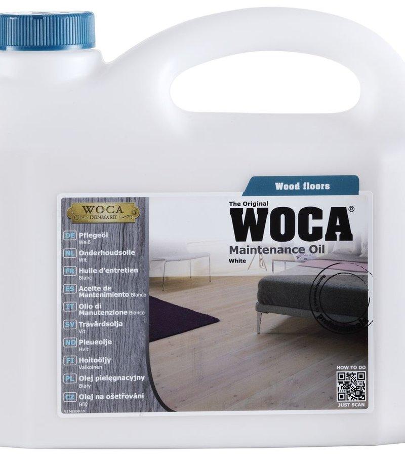 schoonmaak-onderhoud WOCA Onderhoudsolie Wit 2,5L
