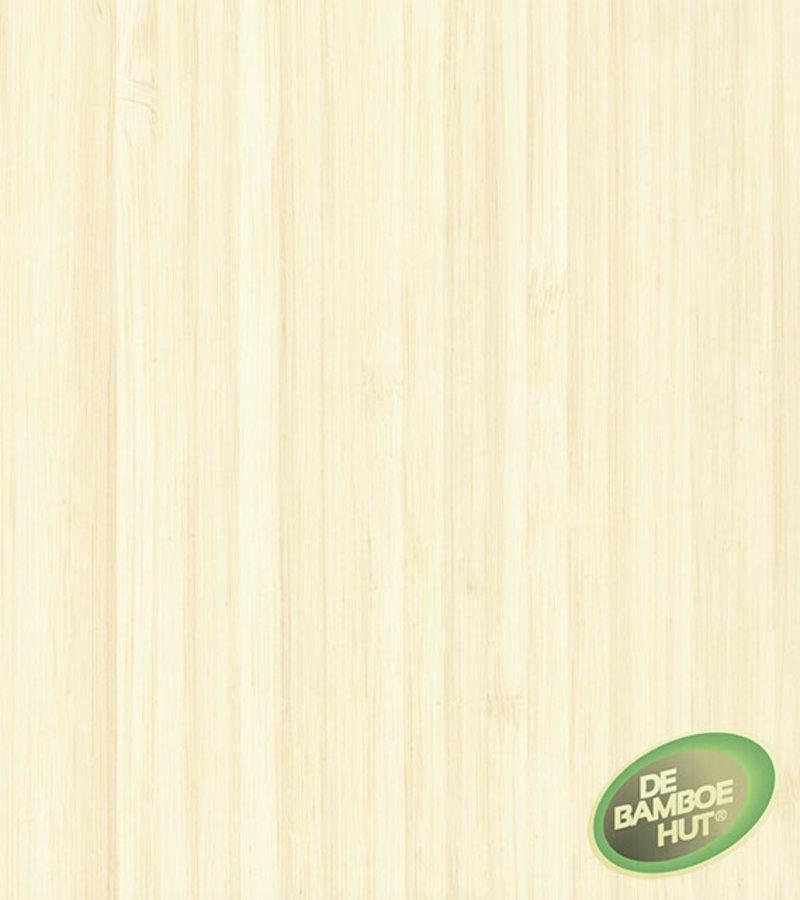 Bamboevloeren Bamboe Large naturel side pressed gelakt white