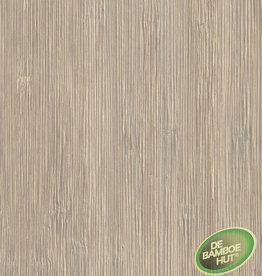 Bamboevloeren Bamboe Top wit gelakt geborsteld caramel