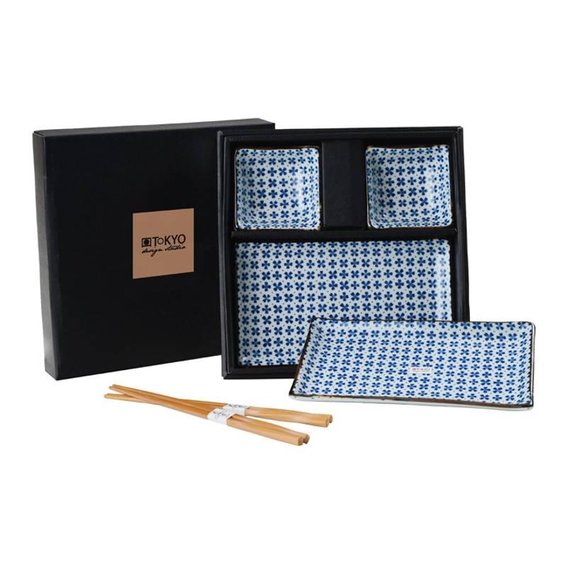 Tokyo Design Studio Tokyo Design Studio Sushi Servies Set – 6-delig – 2-persoons