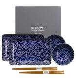 Tokyo Design Studio Tokyo Design Studio Kotobuki Sushi Servies Set – 6-delig – 2-persoons