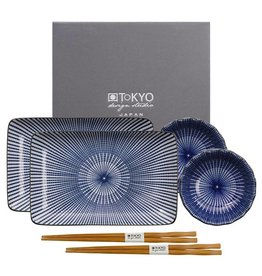 Tokyo Design Studio Tokyo Design Studio 6-teiliges Kotobuki Sushi Geschirr Set