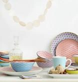 Tokyo Design Studio Tokyo Design Studio Pasta Teller Ø 21 cm - 3-er Set - Mehrfarbig