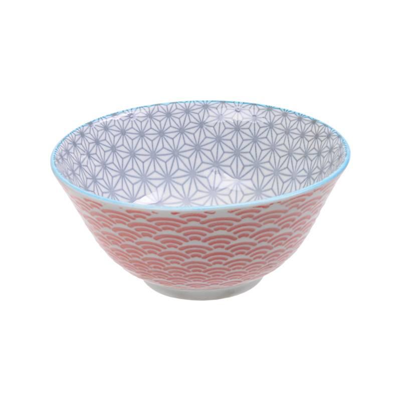 Tokyo Design Studio Tokyo Design Studio Star Wave Schalen Ø 15,2 cm - 4-er Set - Mehrfarbig
