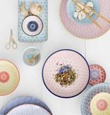 Tokyo Design Studio Tokyo Design Studio Star Wave Bord Ø 20,6 cm - Meerkleurig - set van 3
