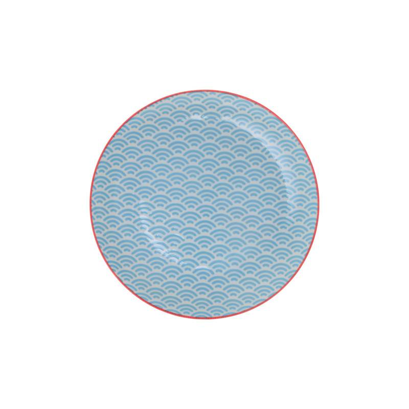 Tokyo Design Studio Tokyo Design Studio Star Wave Teller Ø 20,6 cm - 3-er Set - Mehrfarbig
