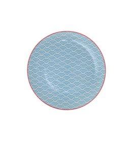 Tokyo Design Studio Tokyo Design Studio Star Wave Plate Ø 20.6 cm - Light Blue