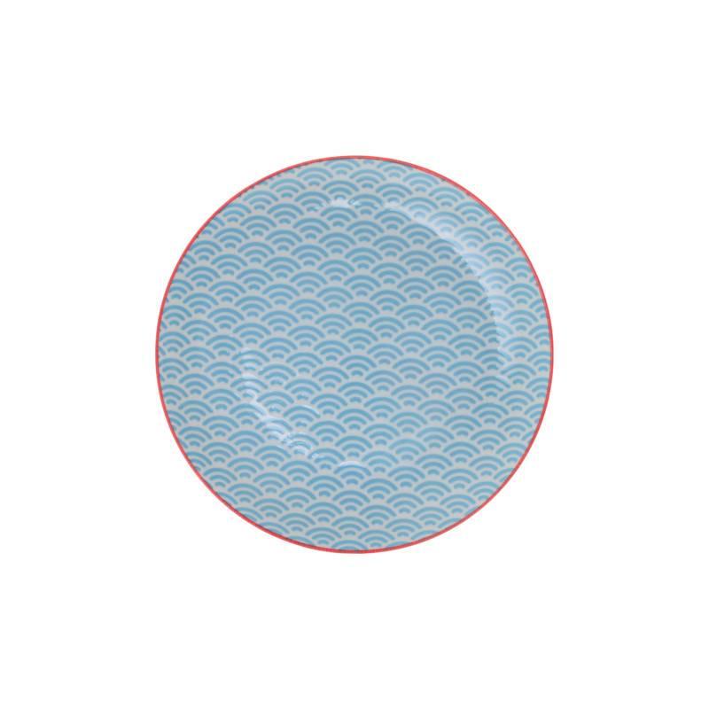 Tokyo Design Studio Tokyo Design Studio Star Wave Bord Ø 20,6 cm - Lichtblauw