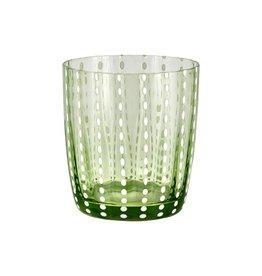 Livellara Livellara Carnival Glass Light Green – Set of 6