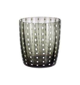 Livellara Livellara Carnival Glass Grey – Set of 6