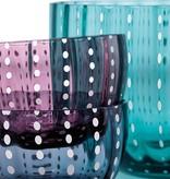 Livellara Livellara Carnival Glass Clear – Set of 6