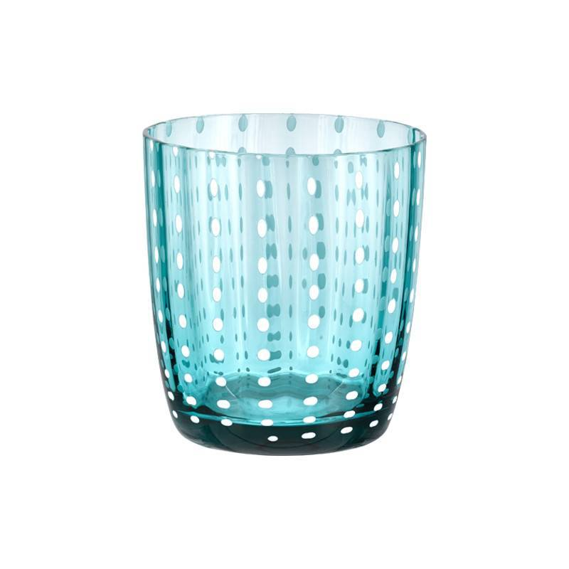 Livellara Livellara Carnival Glass – Set of 6 – Mix of 6 different Colours