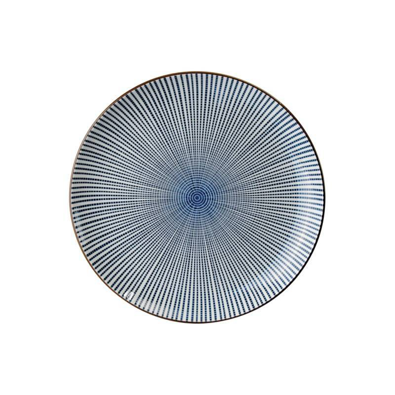Tokyo Design Studio Tokyo Design Studio Sendan Tokusa Blue Bord Ø 21,5 cm