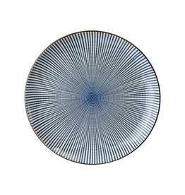 Tokyo Design Studio Tokyo Design Studio Sendan Tokusa Blue Bord Ø 25 cm