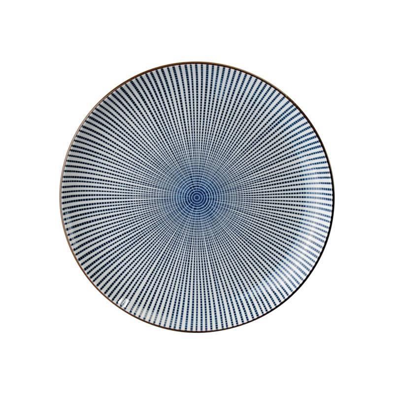 Tokyo Design Studio Tokyo Design Studio Sendan Tokusa Blue Teller Ø 25 cm
