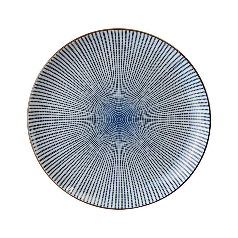 Tokyo Design Studio Tokyo Design Studio Sendan Tokusa Blue Bord Ø 31 cm