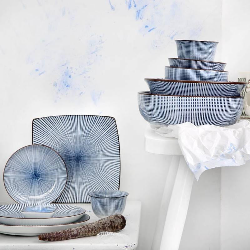 Tokyo Design Studio Tokyo Design Studio Sendan Tokusa Blue Kom Ø 21,8 cm