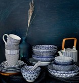 Tokyo Design Studio Tokyo Design Studio New Nippon Blue Set van 6 Mokken 380 ml