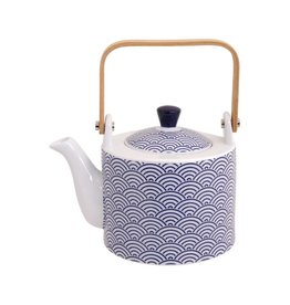 Tokyo Design Studio Coffret Théière 0,8 litre New Nippon Blue de Tokyo Design Studio