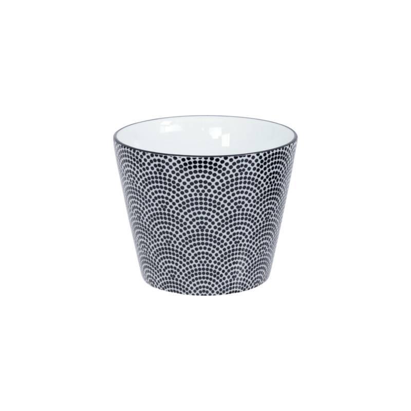 Tokyo Design Studio Tokyo Design Studio New Nippon Black 5 piece Tea Set. Teapot 0,8 liter with 4 Tea cups 180 ml