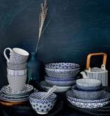 Tokyo Design Studio Tokyo Design Studio New Nippon Blue Pasta Plate Ø 21 cm