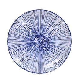 Tokyo Design Studio Tokyo Design Studio New Nippon Blue Plate Ø 20.6 cm