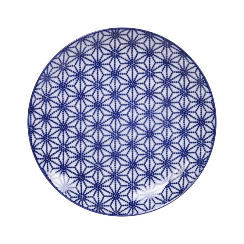 Tokyo Design Studio Tokyo Design Studio New Nippon Blue Teller Ø 20,6 cm